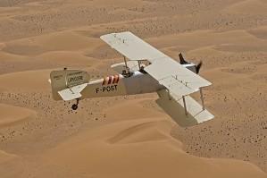Breguet XIV au dessus du Sahara
